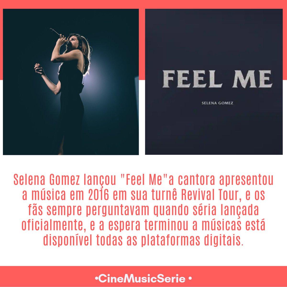 """#Music : Selena Gomez finalmente lançou """"Feel Me"""" em todas plataformas digitais.  Ouça :"""
