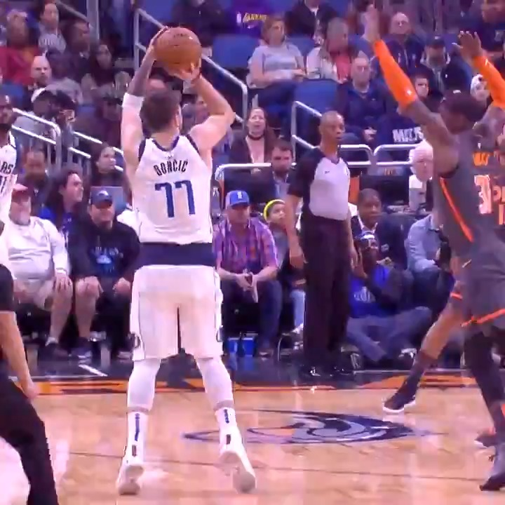 Q: How do you guard Luka when he's doing this? A: You don't.