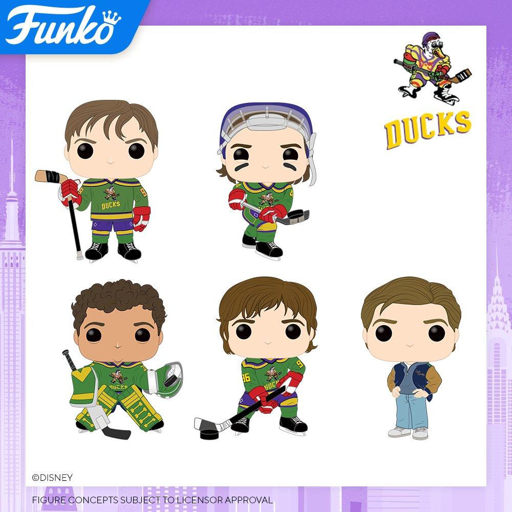 Toy Fair New York 2020 Reveals: The Mighty Ducks!   #FunkoTFNY #TFNY #Pop #TheMightyDucks