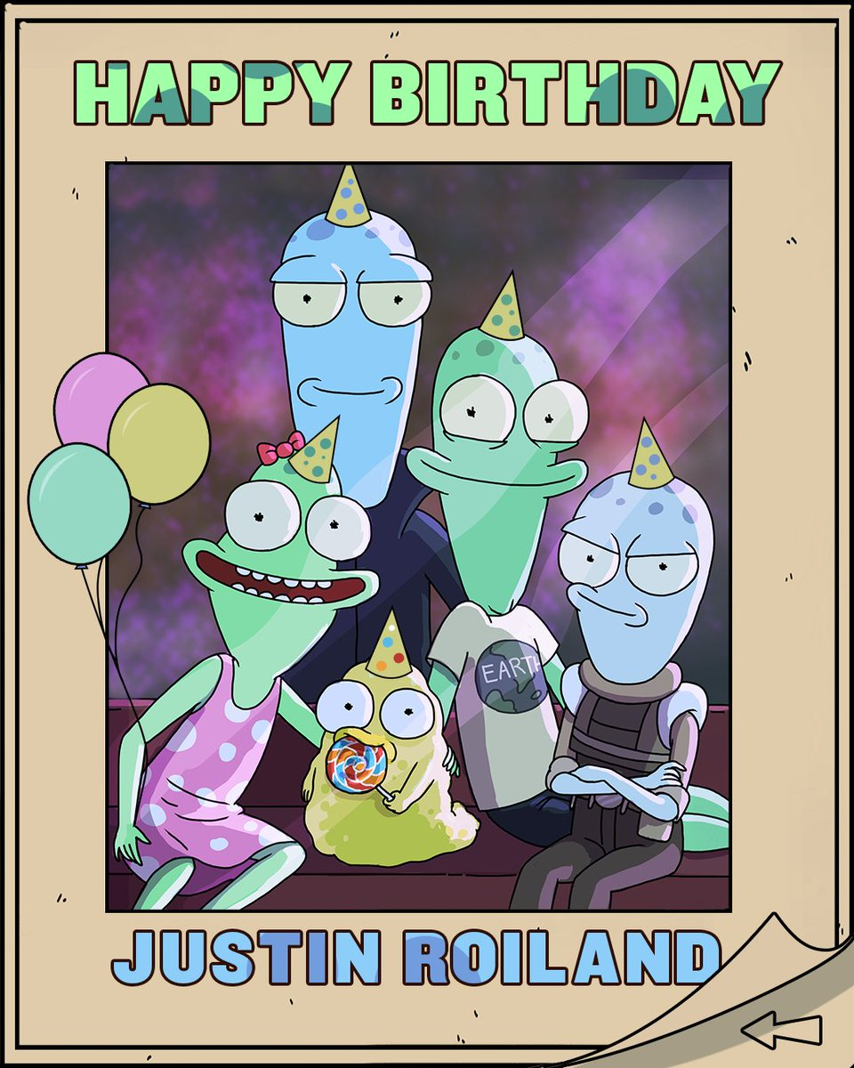 Happy Birthday @JustinRoiland! Here's to another trip around the sun ☀️ #SolarOpposites