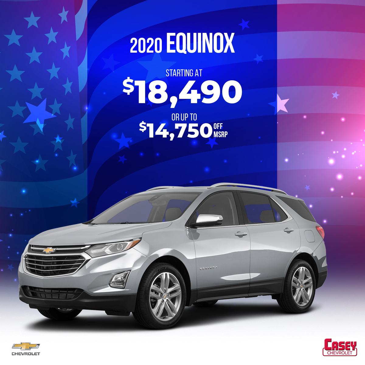 Casey Chevrolet A Twitter When It Comes To Fuel Saving Technology The 2020 Chevrolet Equinox Will Inspire You To Discover New Places Save Up To 14 750 Off Msrp When You Choose Casey Chevrolet