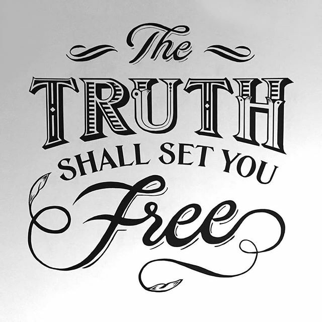 """Jesus said : """"the truth shall set you free"""". What are you believing today?  Is sickness, disease, poverty and oppression keeping you bound?  Believe the Word and you shall be free.  #wordoftheday #wordofgod #wordoftruth #godsword #setfree #behealed #bede…"""