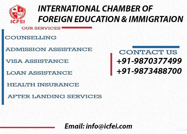 Overseas education is everyone's dream, but getting the right counseling and admission assistance is difficult.   #studyinaustralia #overseaseducation #abroadstudies #icfei #studyinaustralia2020 #australiapr #studyabroad  Call or Whatsapp : +91 - 9870977499, +91 - 9873488700pic.twitter.com/PErty4yeI7