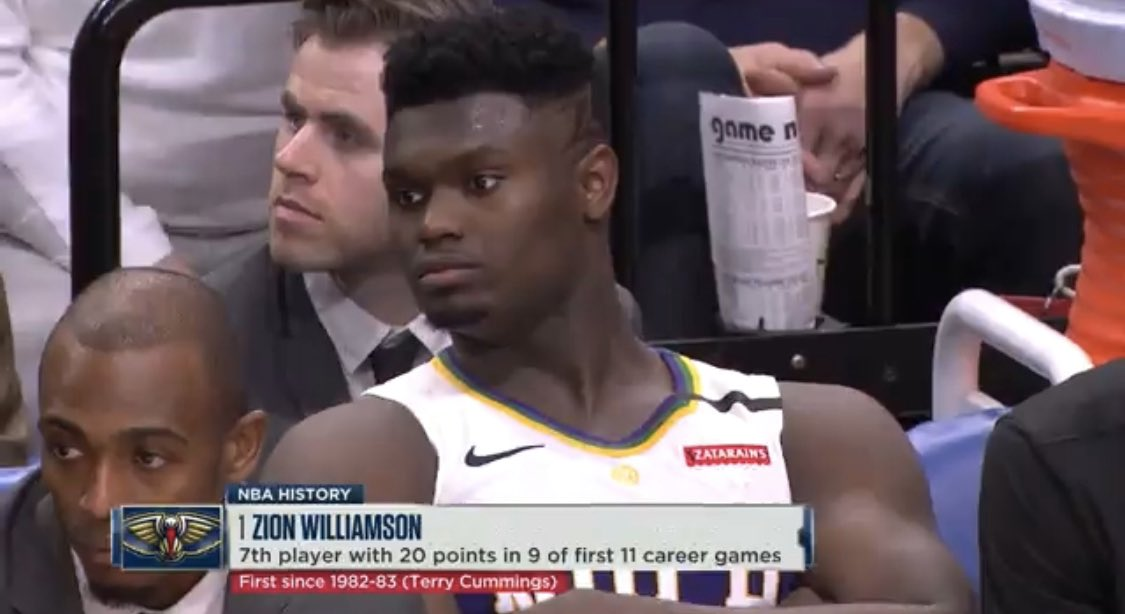 Another day, another record for Zion
