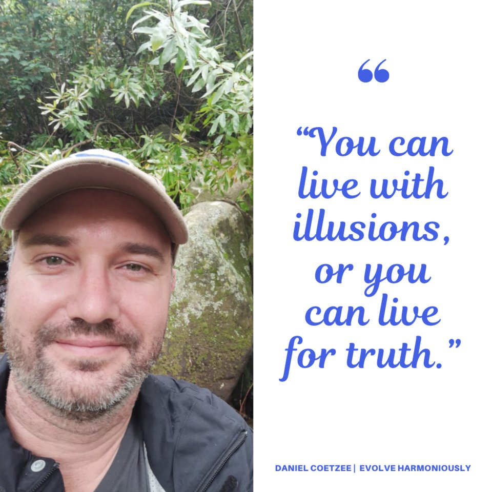 """""""You can live with illusions or truth.""""  I choose truth! What do you choose?    #danielcoetzee #therapeuticenergyhealer #truth #liveyourtruth #milnerton #capetown #evolveharmoniously #reikimaster #hypnotherapist #soulplanreader #healing #truthwillsetyoufree #truthempowersyoupic.twitter.com/cKdNZvG2Cp"""