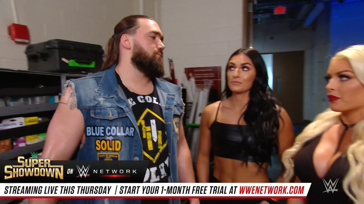 After last weeks Valentines Day incident with @otiswwe, @tuckerwwe approached @WWE_MandyRose looking for answers.