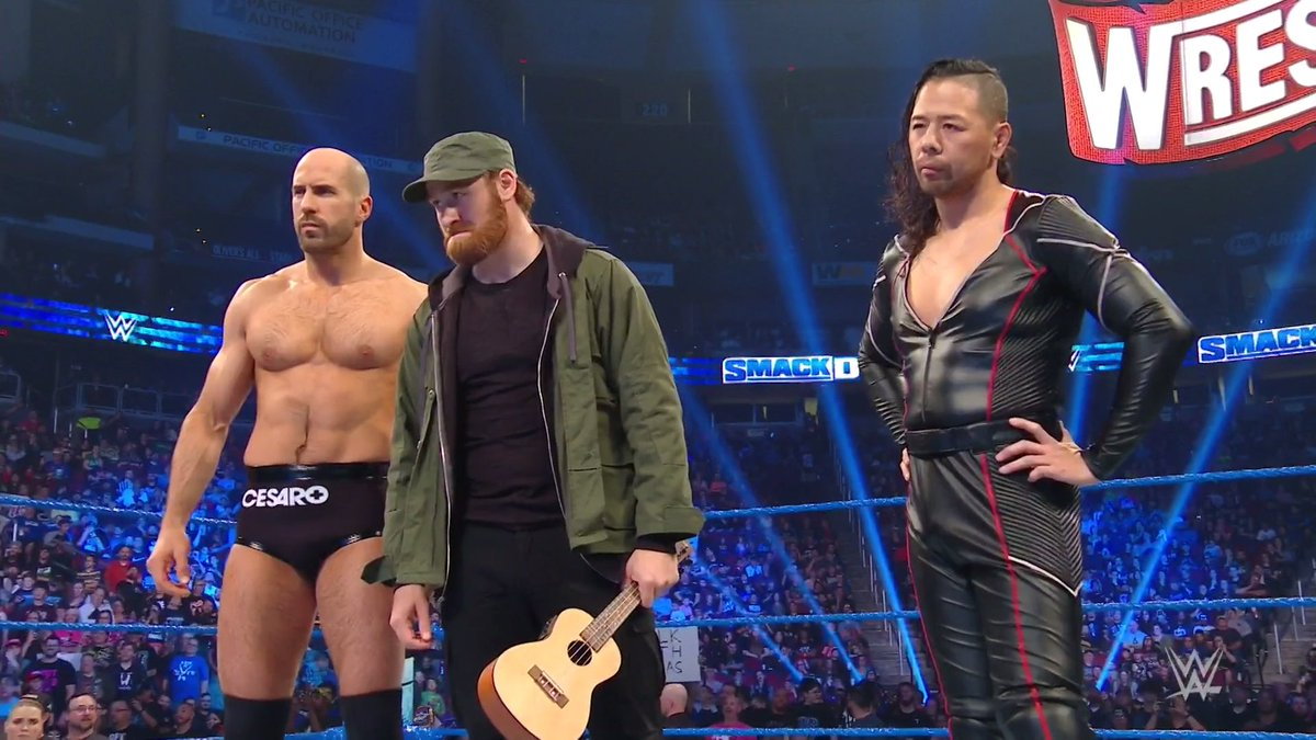 Name this band. ⬇️⬇️⬇️⬇️ #SmackDown