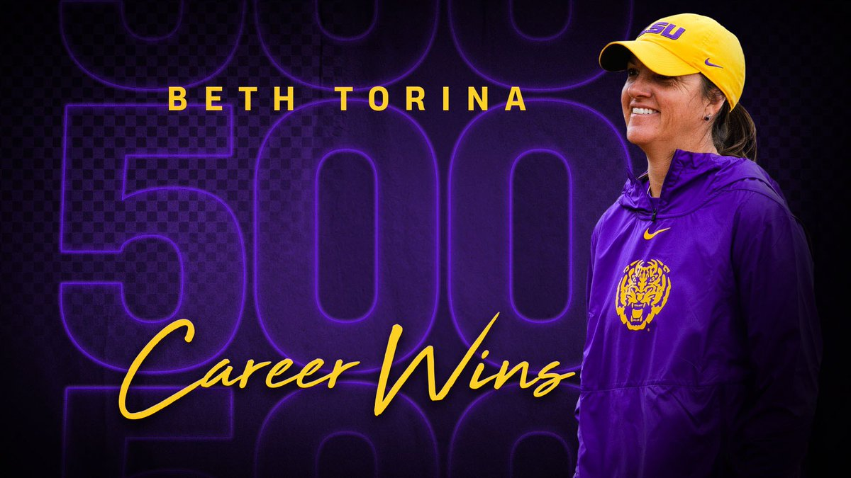 5️⃣0️⃣0️⃣ Career Wins Congratulations, @BethTorina! #TakeTheLead
