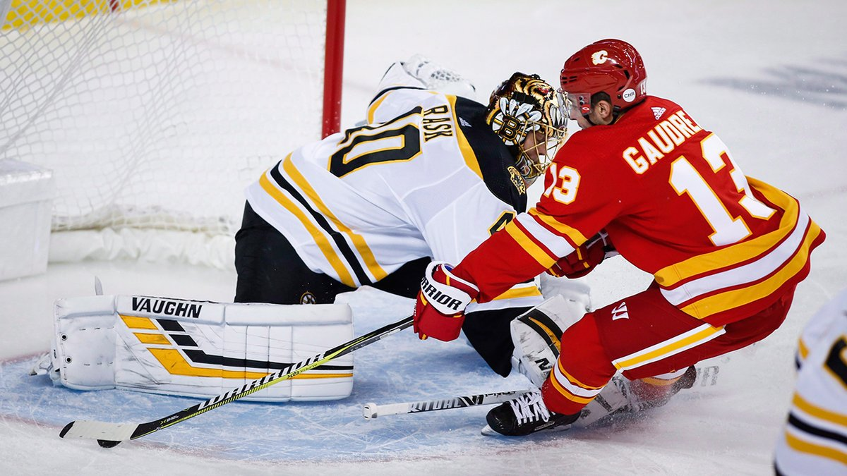 Follow along with our NHL Live Tracker as the @NHLFlames try to slow down the @NHLBruins. bit.ly/2ukhVKZ
