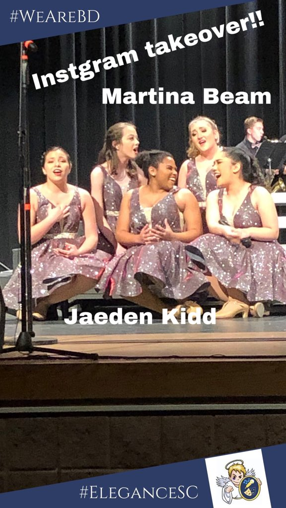 You all enjoyed Morgan's updates last weekend so much, we are going to do another Instagram student takeover!  This weekend at the DeKalb Choir Festival your student hosts will be Martina Beam ('20) and Jaeden Kidd ('20)! Follow us on Instagram to see their updates. #showchoir pic.twitter.com/mdlgi91VMn