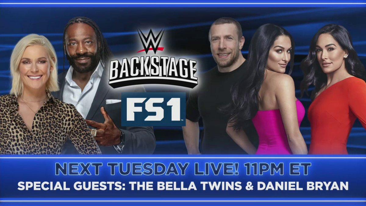 The Bella Twins & Daniel Bryan Set For WWE Backstage On FS1 Next Week