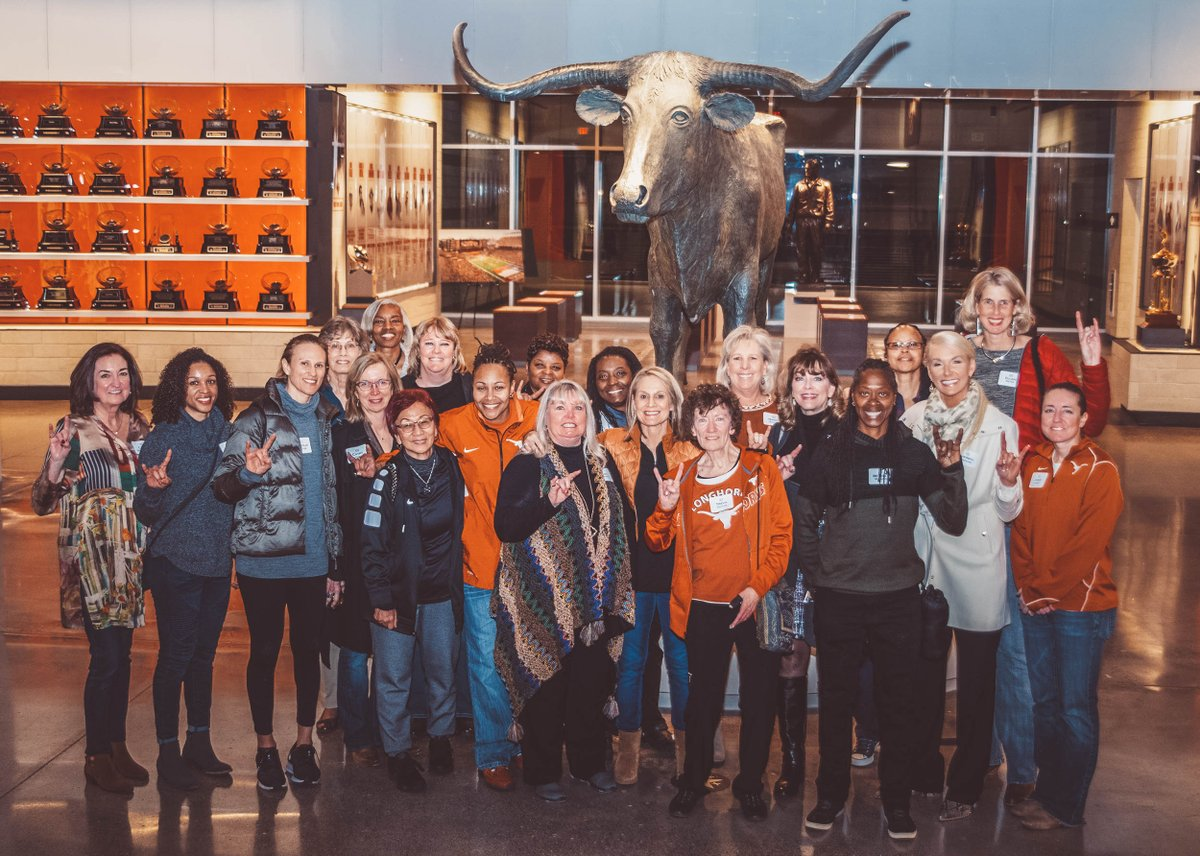 Best weekend of the year 🤘 Honored to welcome back these #Longhorns4Life. #AllForTexas