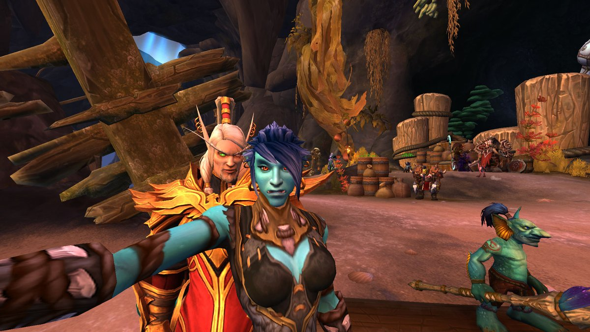 Sure thing Daddy-mar, I'll run some errands and fight some bad guys in Nazjatar for ya. pic.twitter.com/5HsykKfc6N
