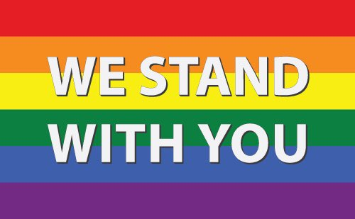 Love has no gender! #morelovelesshate pic.twitter.com/R4NOaBgG3r