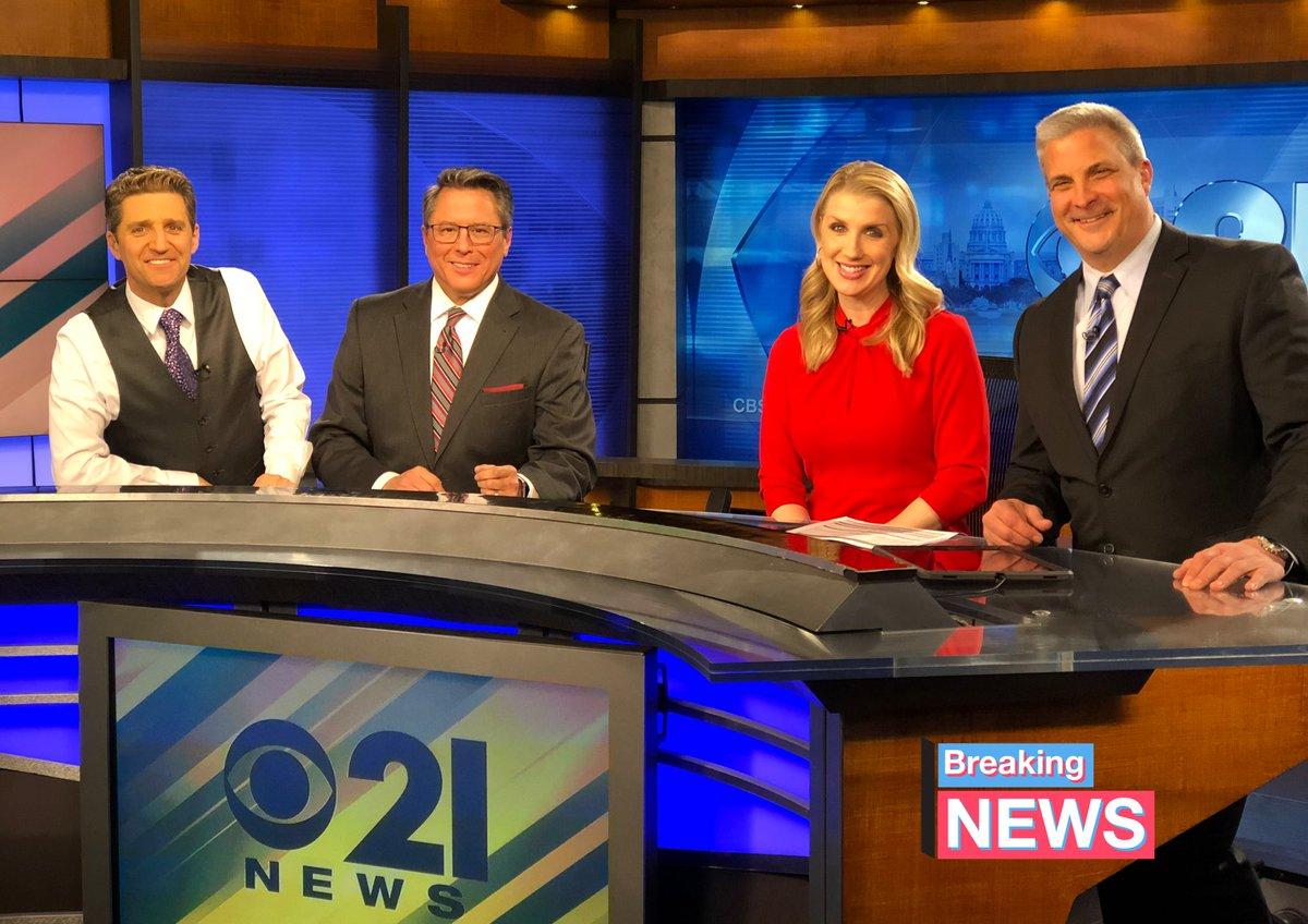 Smiling into the weekend... @CBS21NEWS @RobbHanrahanCBS @TOMRUSSELLCBS21 @JasmineCBS21