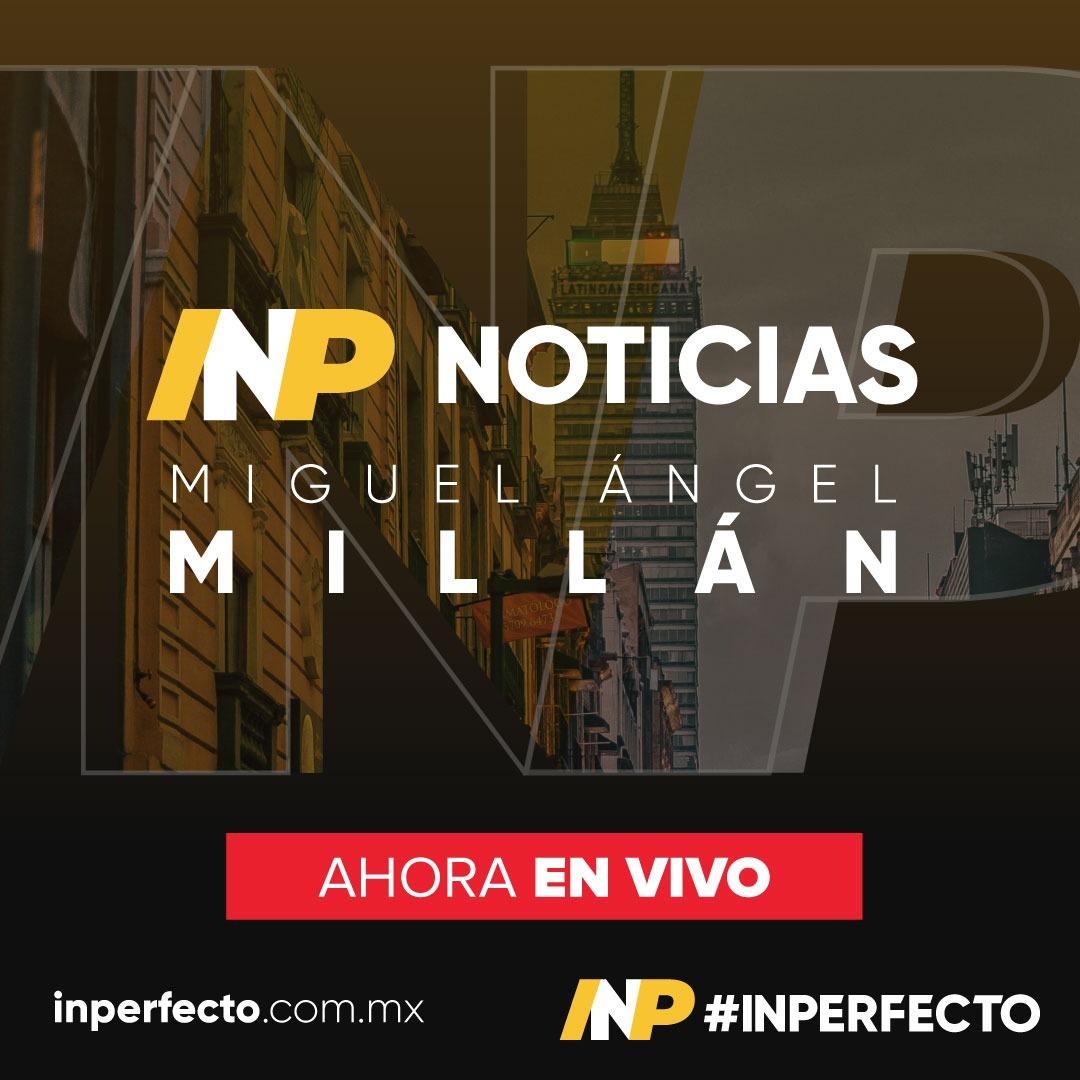 #EnVivo  Las Noticias con Miguel A. Millán (@MiAngel_Millan).  Y, las cápsulas de Carlos Rosas (@CarlosRosas_C) con el Pronóstico del Tiempo Político y Manuel Peñaloza (@ManuelPenalozaM) con el reporte semanal.  En http://inperfecto.com.mx/radiopic.twitter.com/atutEteSQi