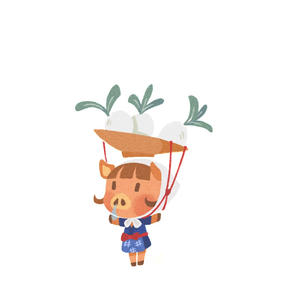 #animalcrossing little daisy mae! 🐗 i have only known her for a day, but if anything happened to her.... 🔪