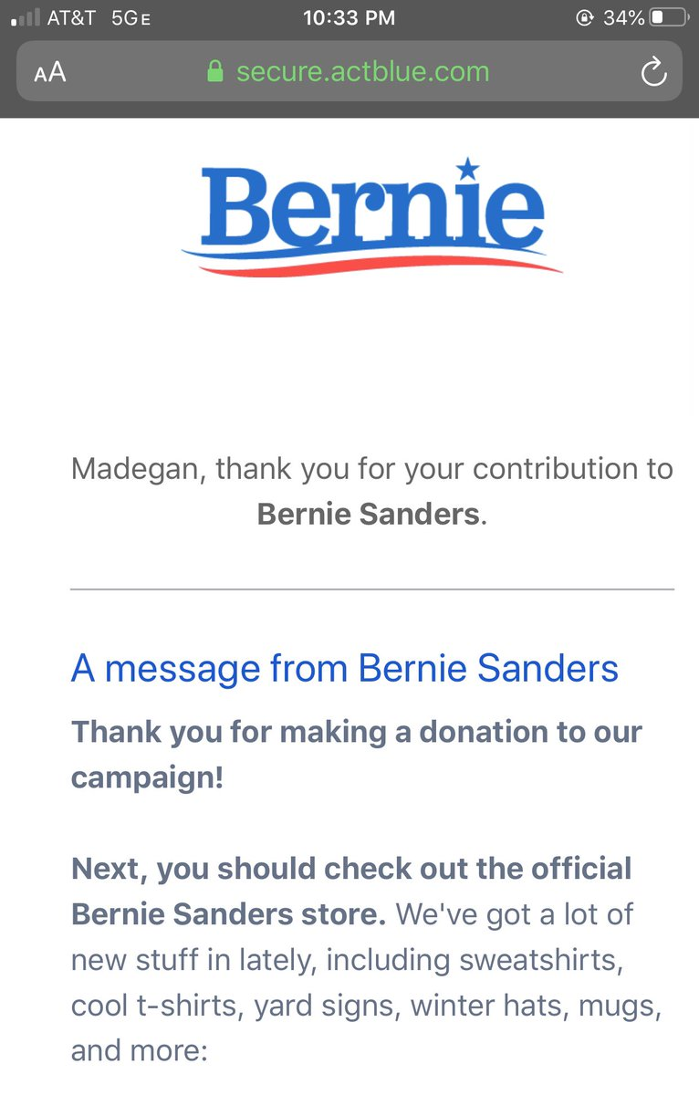 Oops I almost missed #HotGirlsForBernie! Let's get our boy to the White House💋