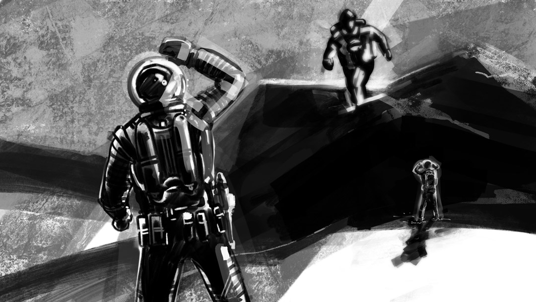 Giant Visitor. #astronauts #spaceexplorer #doodleart #moviescene #moviescenes #storyboard #artist #storyboarding #storyboards #draw #drawing #drawings #filmmaking #filmmaker #preproduction #art #conceptart #conceptartist #filmproduction #illustration #sketch #digitalartpic.twitter.com/0HOlDSmMBO