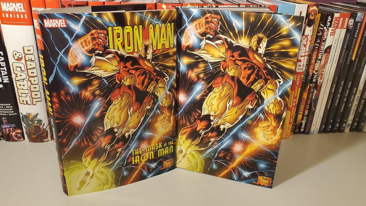 Iron Man- Mask In Iron Man Omnibus Overview Video-https://m.youtube.com/watch?v=s2zU5gYF0Ec… #marvelcomics #adisnukic #ironman #Avengers #Avengersinfinitywar #avengersinfinityguantlet #robertdowneyjunior #fantasticfour #humantorch #captainmarvel #captainamerica #spiderman #thor #blackpanther #ultropic.twitter.com/hsPFfOd5fW