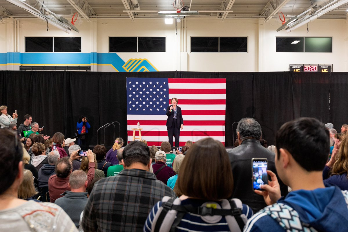 Great events in Elko and Reno today! It's clear that we are building a strong coalition going into tomorrow's First in the West caucus. Nevada, let's do this.