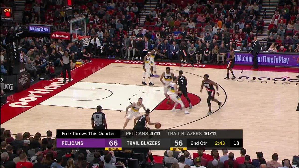 Total team effort to get JJ that nice little triple