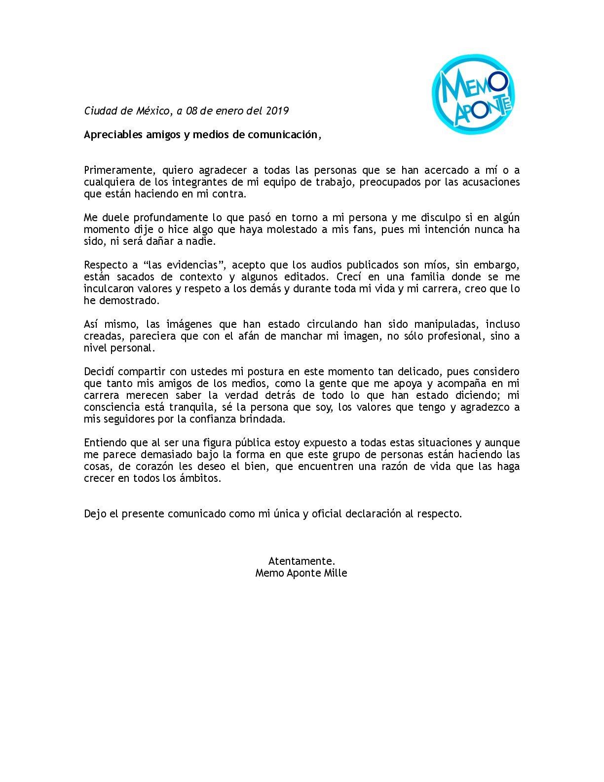 declaracion disney abuso menores 2019