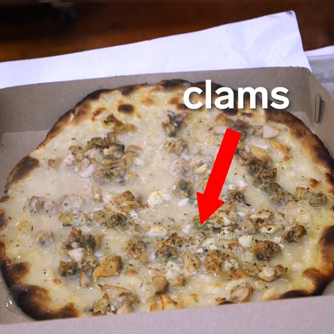 Do clams belong on pizza?