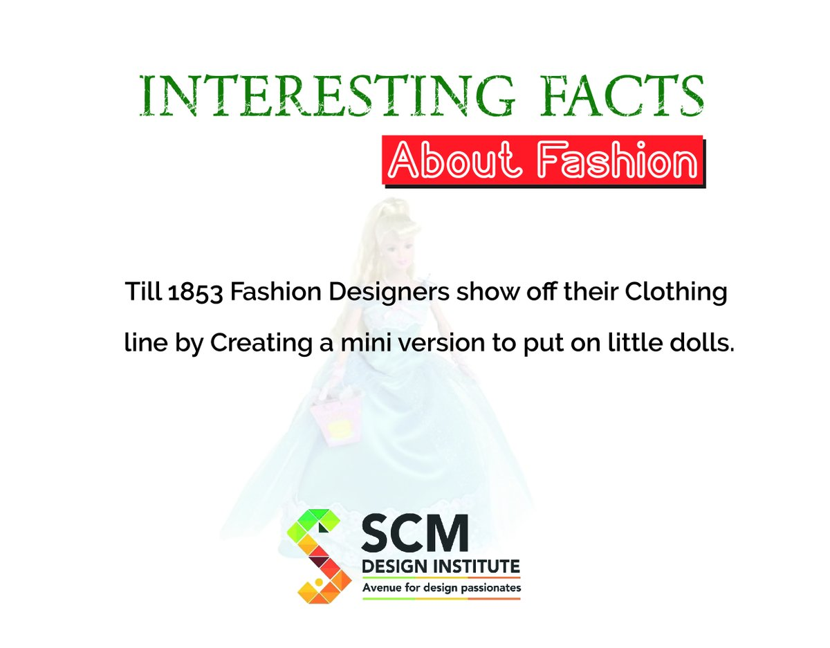 DID YOU KNOW?  Visit Us at: http://www.scmdesigninstitute.com/  . . . #didyouknow #factsaboutfashion #facts #interestingfacts #fashionlove #unbelievablefacts #fact #knowledge #factsdaily #didyouknowfacts #funfacts #scmdesigninstitute #designinstitute #kharghar #navimumbaipic.twitter.com/ha4F0ef621