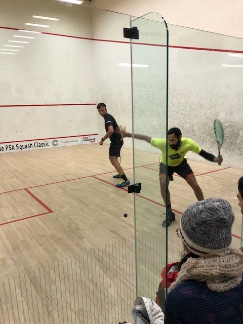 CHRONICLE WEALTH GUILFOYLE PSA SQUASH CLASSIC   We have our finalists in Toronto @DanielMekbib  & Yuri Farneti  will go head-to-head for the title later today   Full semi-final results http://ow.ly/sHiY30qjN3J  #PSAChallengerpic.twitter.com/dlecofc6Ef