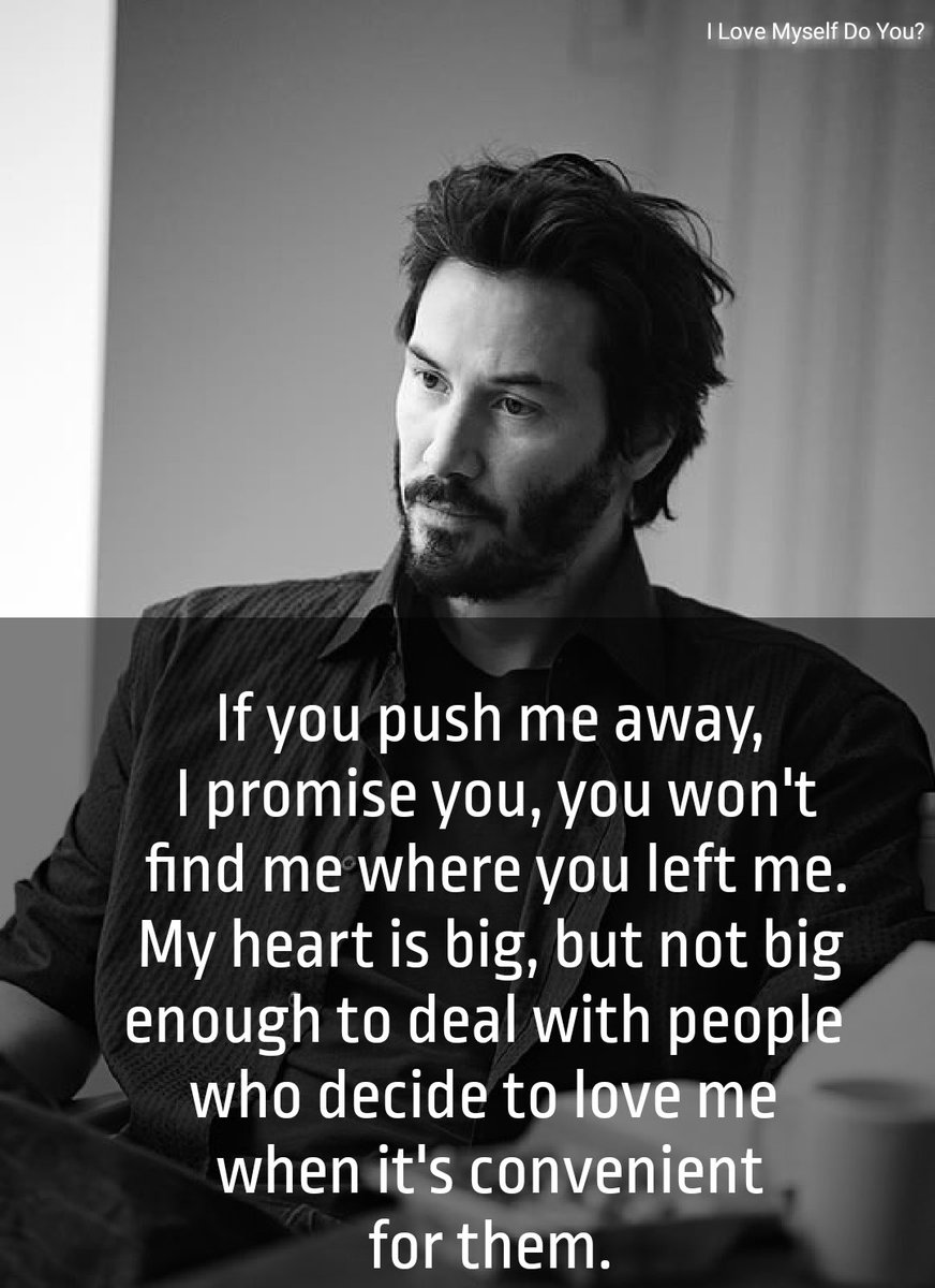 Exactly! Thanks for reminder Mr Reeves! #quotes #keanureevesquotes #keanureevespic.twitter.com/NiLVZA0lrI
