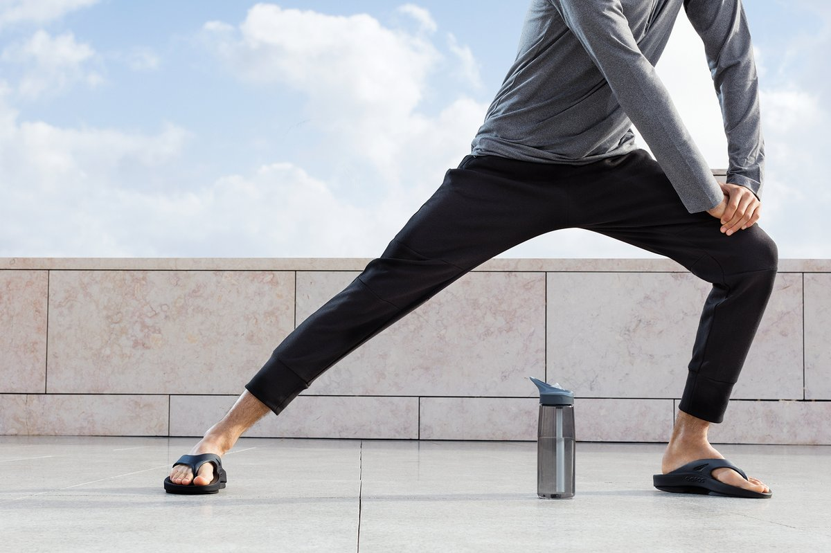 Whether you're young or old, working in an active job, standing on hard floors all day or participating in sport and exercise is demanding on the joints of your feet, ankles and knees.     Find out how OOFOS Recovery Footwear can help   http:// bit.ly/3bWRdsQ    <br>http://pic.twitter.com/G7PtWrgOQg