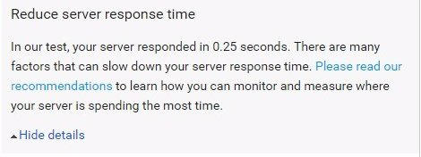Google PageSpeed Insights Reduce Server Response Time #Google #PageSpeed #SEO https://seo-gold.com/?p=3383pic.twitter.com/ImXsrdZfNA