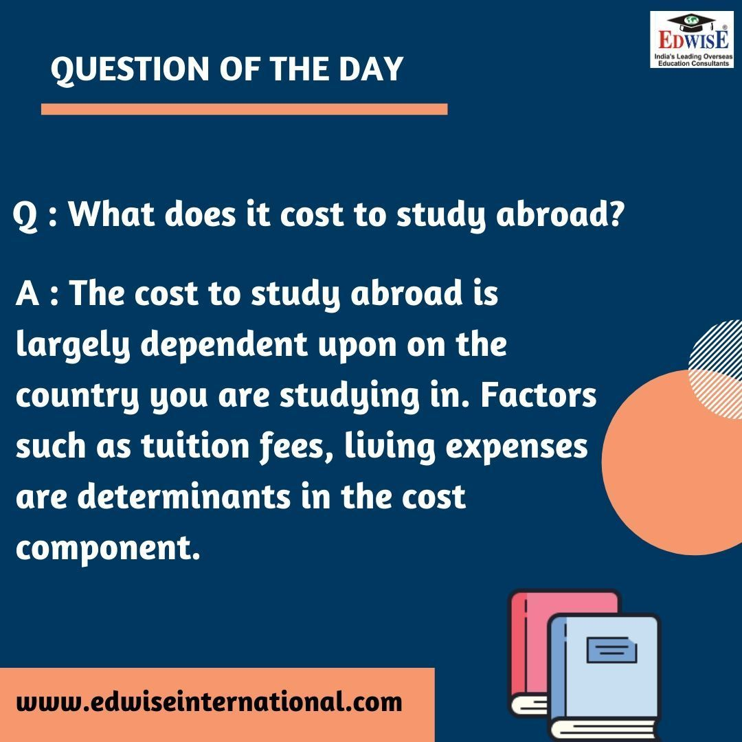 Question of the day!  https://buff.ly/2Ojr3sq   #questionoftheday #faq #questions #answer #modules #studyabroad #education #travel #study #work #settle #abroad #abroadstudies #careergoals #graduation #edwise #edwiseinternational #futurethroughedwisepic.twitter.com/bNScelNOP2
