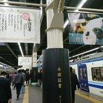 パンダののりものに卒業証書!みさき公園閉園に関した駅の広告が話題!