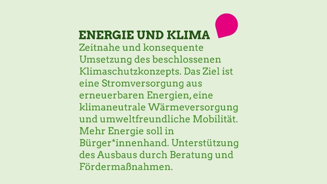 Wir stellen unsere Eckpunkte für Beratzhausen vor. Heute Teil 6 von 7: Energie und Klima  Am 15. März grün wählen: - Liste 2 bei der Marktrats- und Kreistagswahl - Sonja Kessel als Landrätin für Regensburg und Jürgen Friedmann als Bürgermeister für Beratzhausen  #weilwirhierlebenpic.twitter.com/9K2xkSc4Ni