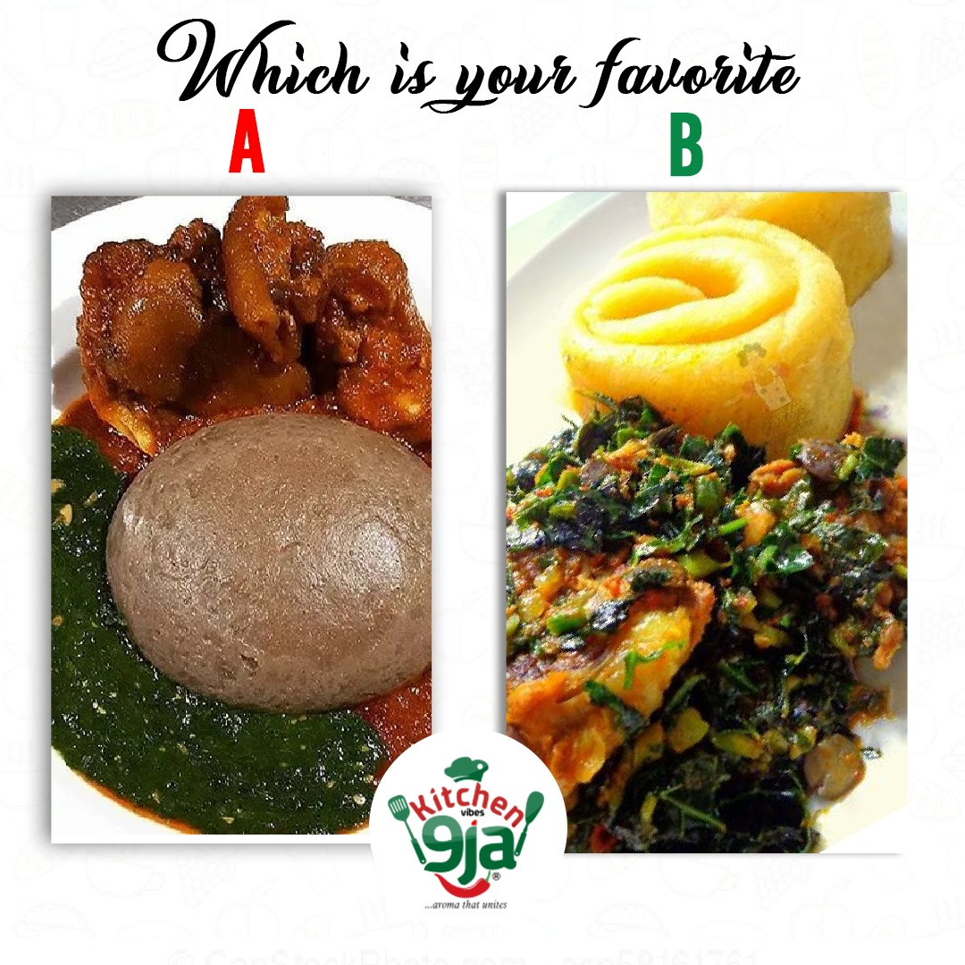 Make your choice guyz😊 #kitchenvibesNaija