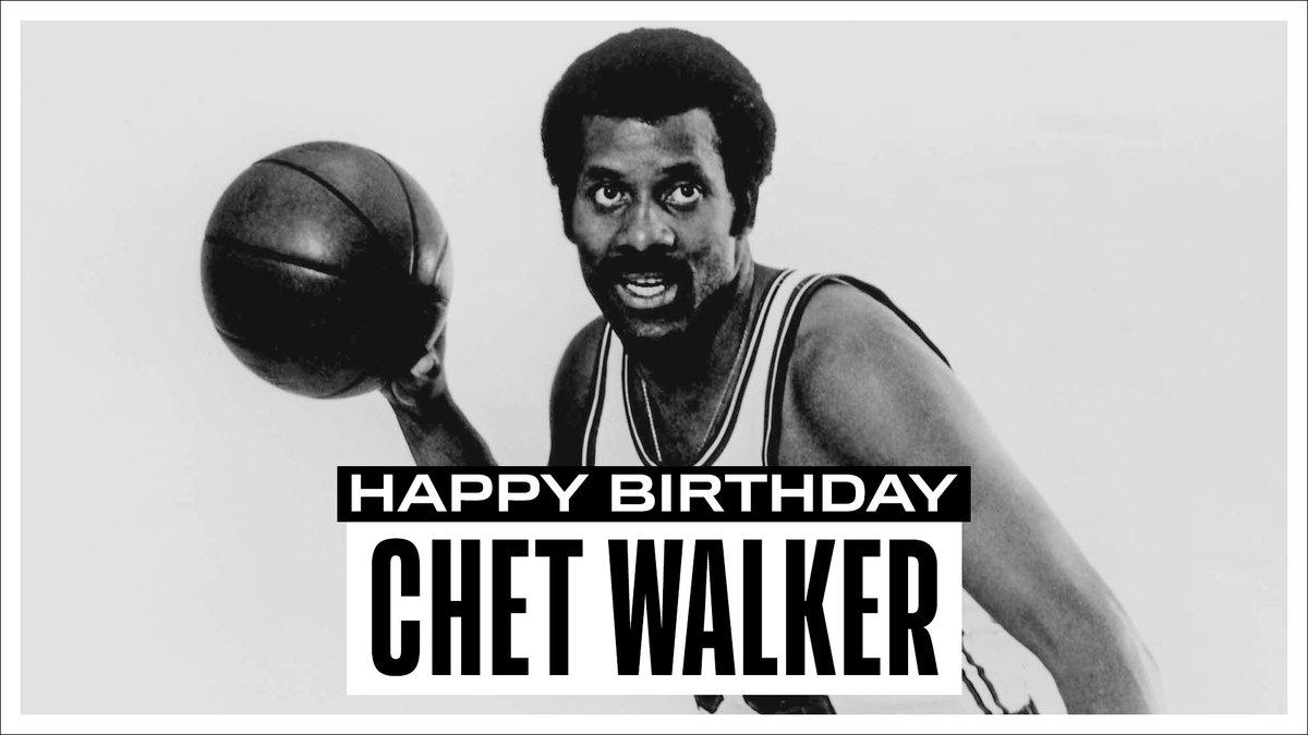 Join us in wishing a Happy 80th Birthday to 7x #NBAAllStar, 1966-67 NBA champion & @Hoophall inductee... Chet Walker! #NBABDAY