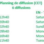 Image for the Tweet beginning: Vanmiddag om 12:40 uur praat