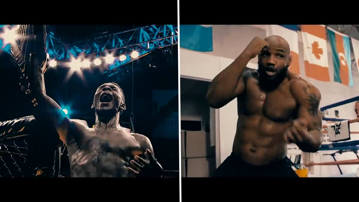 RYSNINGAR!  Gåshudsvarning: Ny trailer släppt inför Adesanyas jättefight mot Yoel Romero https://t.co/5f30z1L8tf https://t.co/oph5LDoGQu