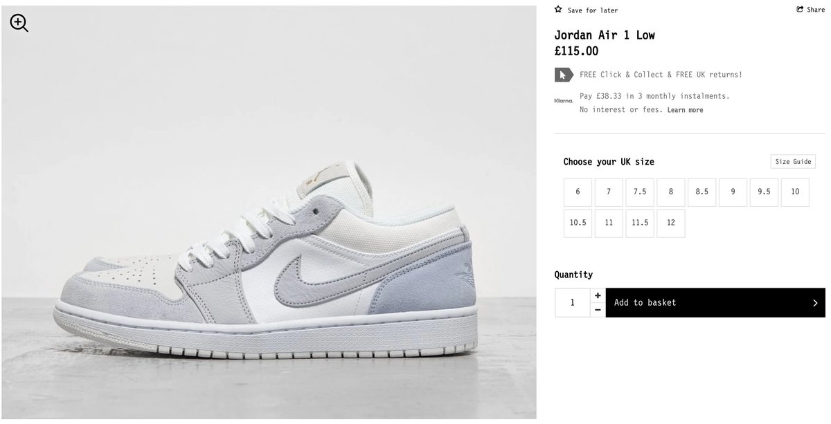 Sole Links On Twitter Ad Live Via Foot Patrol Air Jordan 1 Low