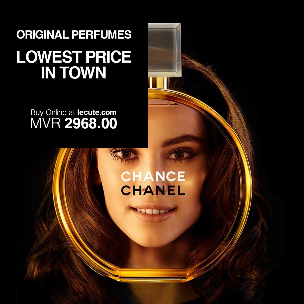Take The Chance! #Chanel #Chance #OnlyOriginals  Special Prices when you Buy Online https://buff.ly/3bMUN8Z
