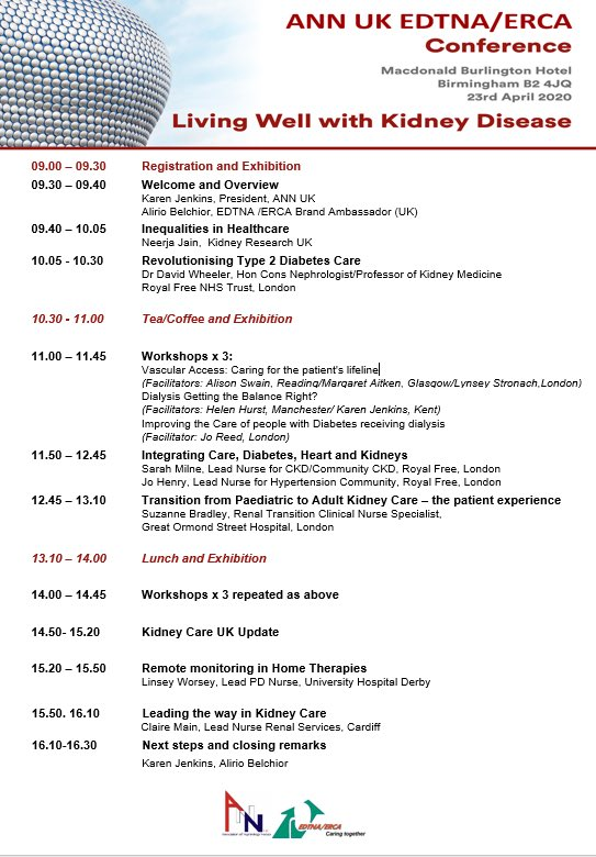 Only 10 days left to get your early bird registration don't miss out! @EDTNAERCA @BritRenalSoc @HaemodialysisVA @RenalAssoc https://t.co/6lC6fPkkGs