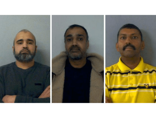 The latest three 'boys' convicted of multiple rapes of young girls in Oxford. 41, 42, 49pic.twitter.com/ln9vprsgCd