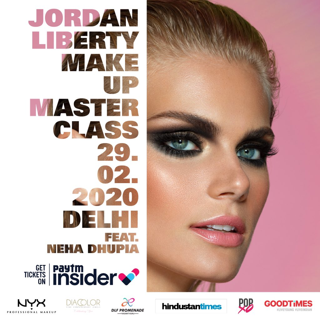 .@jordanliberty A.K.A Master of Lighting Technique✨ is performing a Master Class using #NYXProfessionalMakeup Stand a chance to win a ticket  All you gotta do, tag three friends and tell us which is your fav Jordan feature look. #JordanLibertyIndia #JordanLibertyMasterClassIndia