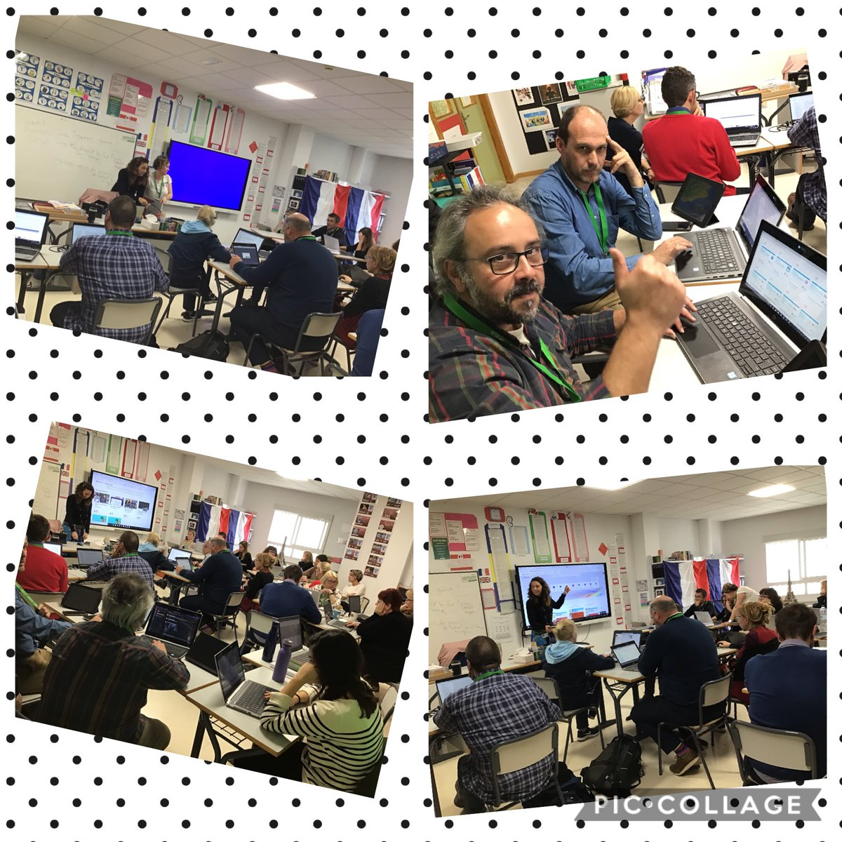 """And this 👇🏼...is what we do """"in our spare time"""" 😂 @TLegidos @DaviniaAsuar #ELISWay #CognitaWay @SMART_Tech @msonenote @Seesaw"""