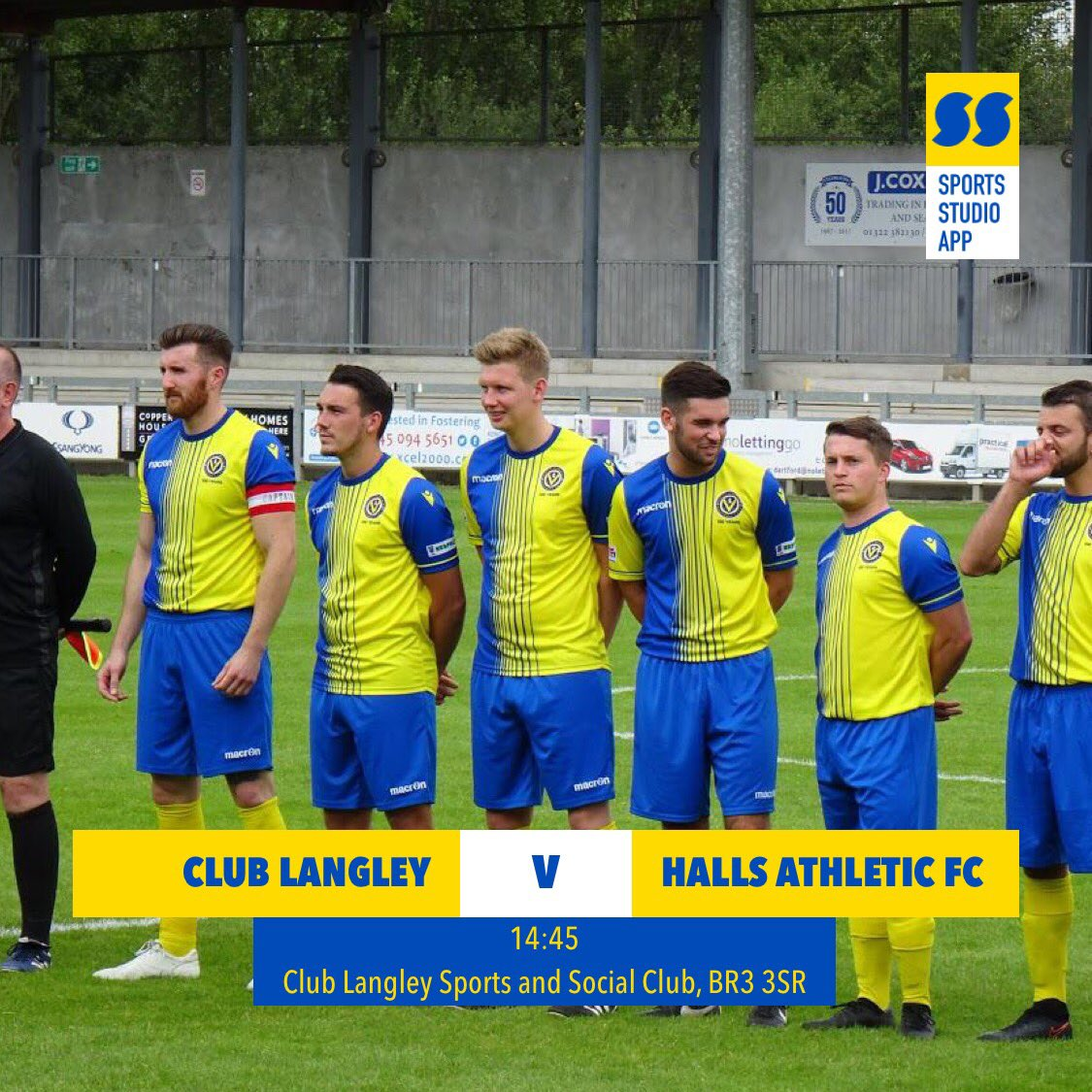 test Twitter Media - First team travel to @ClubLangleyFC today and looking to make it 7 wins on the bounce! In the home tie first team came out 2-0 winners but a very tight game. Expecting a cracker today 💛💙💛💙#HAFC #100thseason https://t.co/JmEFEPcL5k