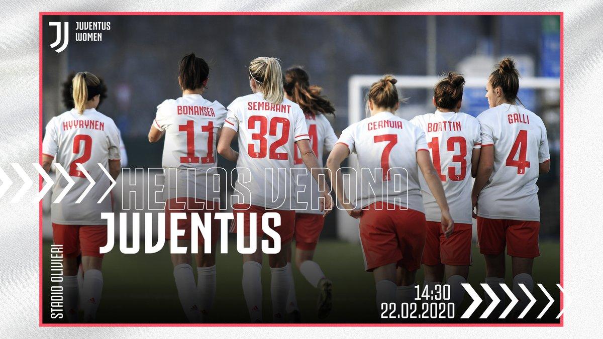 🔙 WHERE WE WON OUR 2ND SCUDETTO! ⚪️⚫️ 🇮🇹 @FIGCfemminile 🆚 Hellas Verona 🏟 Stadio Olivieri ⏰ 14:30 CET 📲 #VeronaJuve