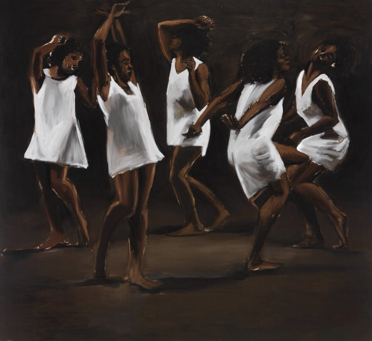 Painting by Lynette Yiadom-Boakye; a British Ghanaian painter and writer. Her work has contributed to the renaissance in painting the black figure.  We can wait to meet the Lynette in you on the 28th February. Grab your tickets here - http://www.changeforghana.org/event pic.twitter.com/TdGQmdKSOf