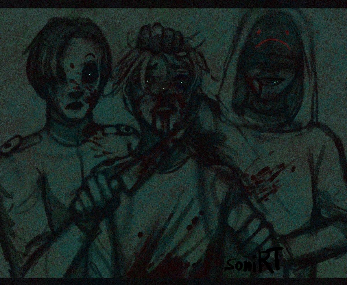 #ArtistOnTwitter #art #artwork #creepypasta